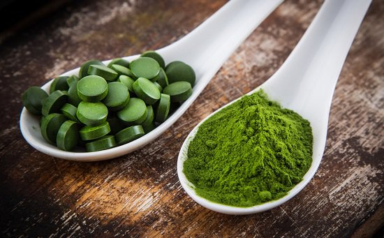 Spirulina contains 71 percent protein