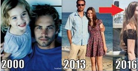 Paul Walkers daughter is all grown up and started something great in her fathersmemory