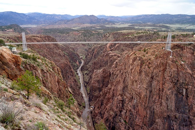royal gorge bridge near canon city colorado
