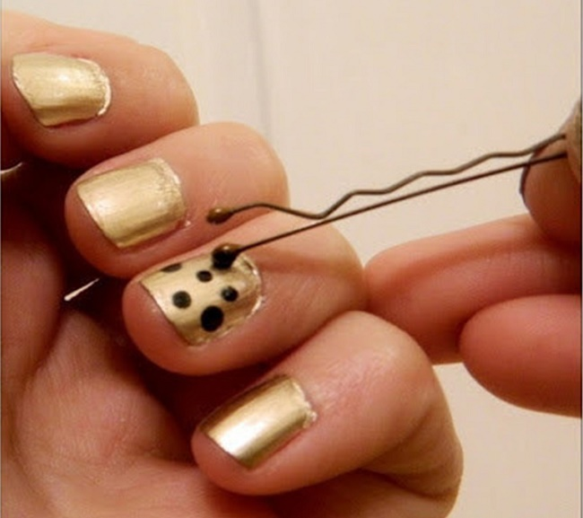 DIY Dotting Tools Out Of Pins