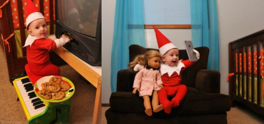 Dad transforms his 4 year old son into an Elf on the Shelf and the results are simply adorable