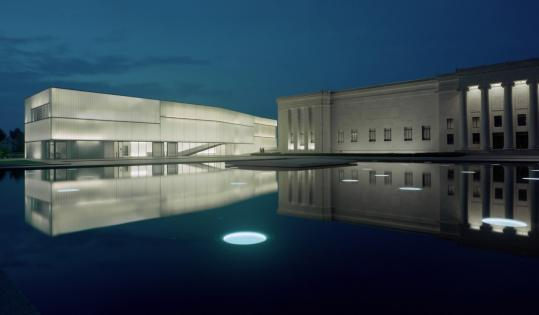 Nelson-Atkins Museum's Block Building, Kansas City, MO