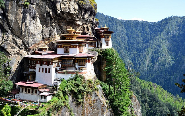 Tiger's Nest Monastery, Paro District, Bhutan