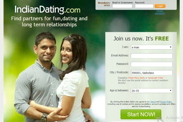 famous dating sites india
