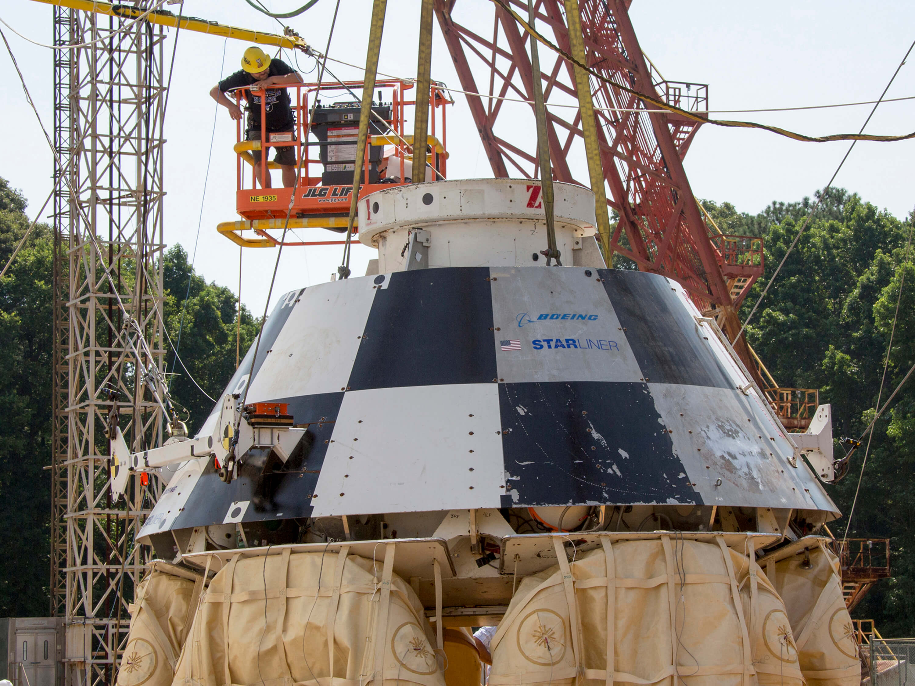 NASA Starliner Mock-Up Testing Session Went Well