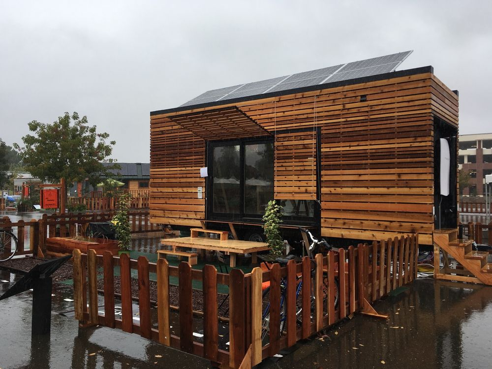 The Tiny House Competition Introduces the rEvolve House