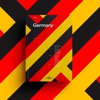 Minimalist UEFA EURO 2016 Poster Series