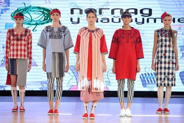 Одежда украинского дизайнера Натальи Трофимовой — еще одного призера конкурса
