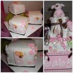 Pink & Brown girl Baby Shower