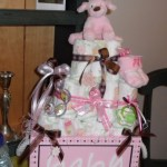 Pink and Brown Girl Baby Shower