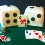 Let's Play Poker lucky cake