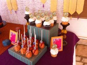 Arabian night kids birthday party picutres