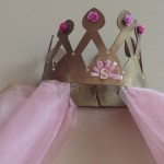 beautiful crown of chic princess banner