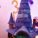 Unique Rapunzel customized cake