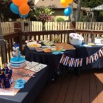 Whale Twins Baby Shower
