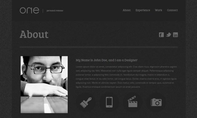 03-free-web-resume-template