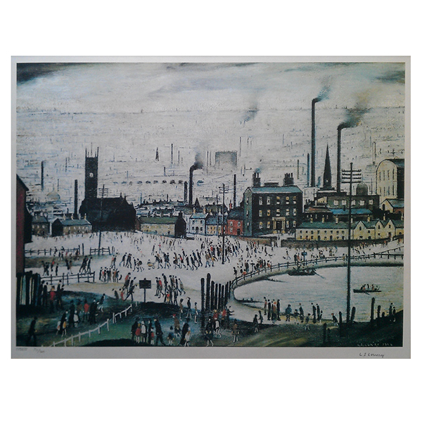 Industrial-Town-Laurence-Stephen-Lowry-Trent-Art