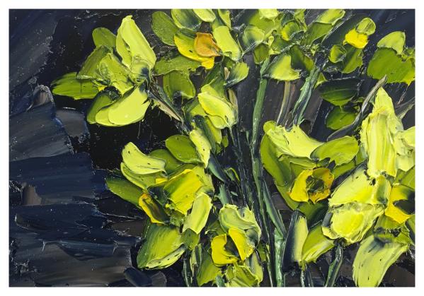 Daffodils Still Life, Colin Halliday