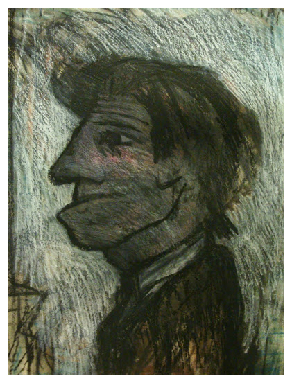 Arthur Berry Paintings Man With Chin Trent Art