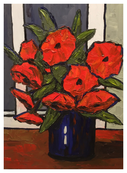 Poppies by David Barnes