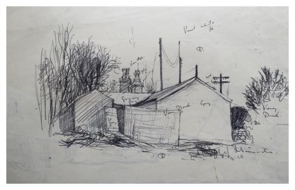 Gable End (Working Sketch), Jack Simcock