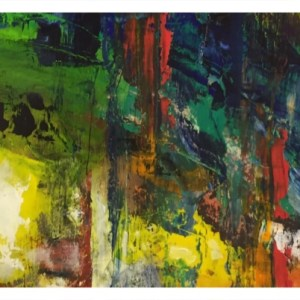 Simcock, Jack (1929-2012) Small Abstract Colour