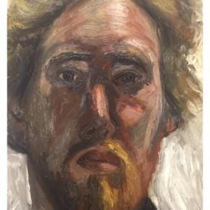 Simcock, Jack (1929-2012) Self Portrait 1963