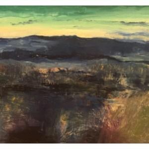 Simcock, Jack (1929-2012) Blue Mountains