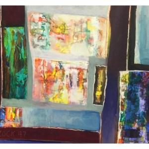 Simcock, Jack (1929-2012) Coloured Abstract 1997