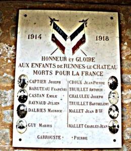 Monument morts RLC