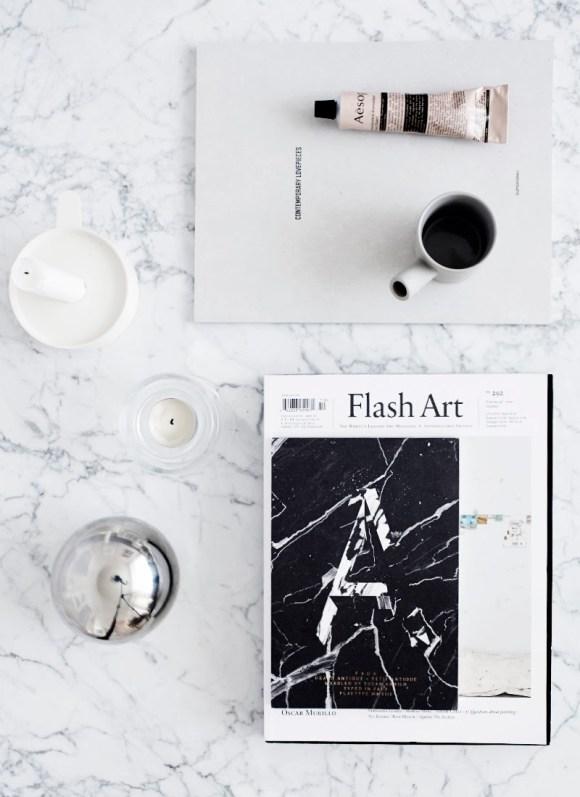 riikka kantinkoski marble styling paper folding