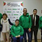 Tres paratriatletas extremeños transmitirán los valores del Programa Vivir sin Trampas Extremadura de la AEPSAD