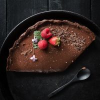 [gewinnspiel/backwettbewerb]: dunkle kaffeeschokoladentarte mit fleur de sel und meet'n'greet trickytine in stuttgart