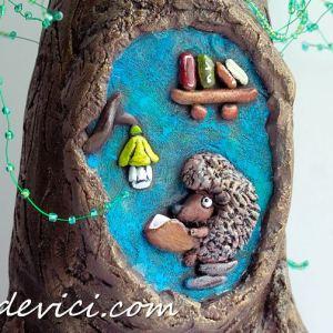 Дерево из бутылки (26 фото)