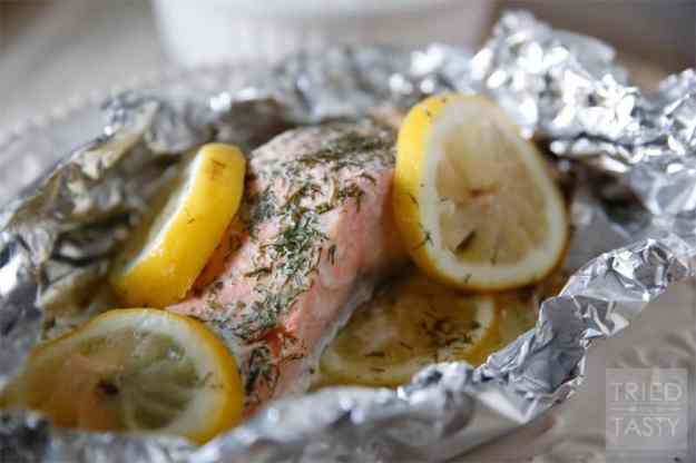 Quick & Easy Grilled Salmon - Tried and Tasty