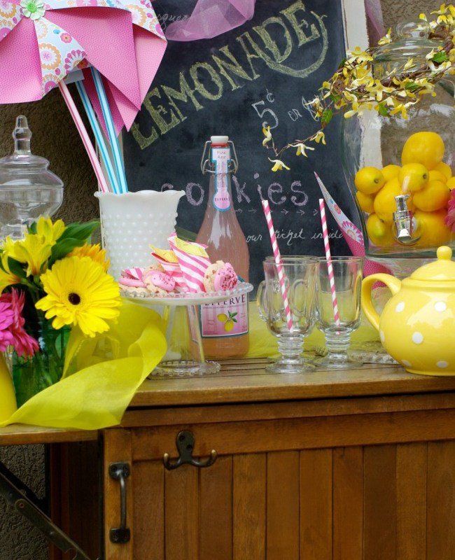 A LEMONADE TEA PARTY