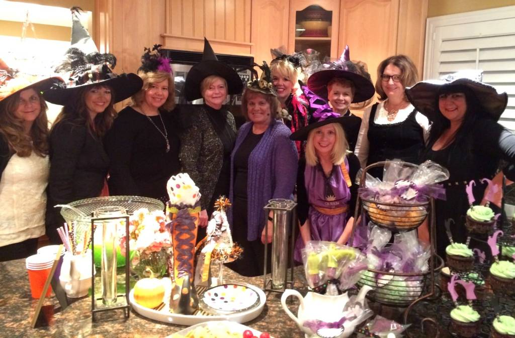 Witches tea party difficult