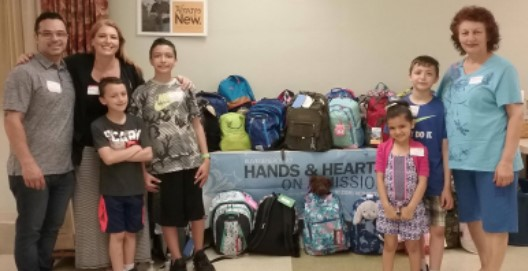 """Thank You"" for Supporting Backpacks of Love Project"
