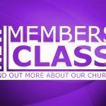 New Members Class Scheduled for Sunday, September 25th