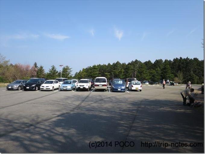 天城高原ゴルフ場駐車場
