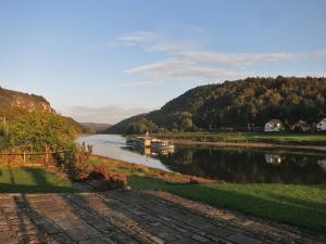 Elbe bei Wehlen - Sächsische Schweiz