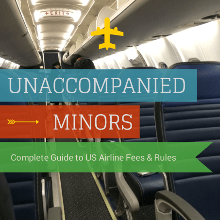 Unaccompanied Minors:  Complete Guide to US Airline Fees & Rules