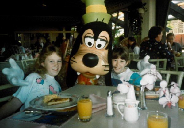 Breakfast with characters, WDW