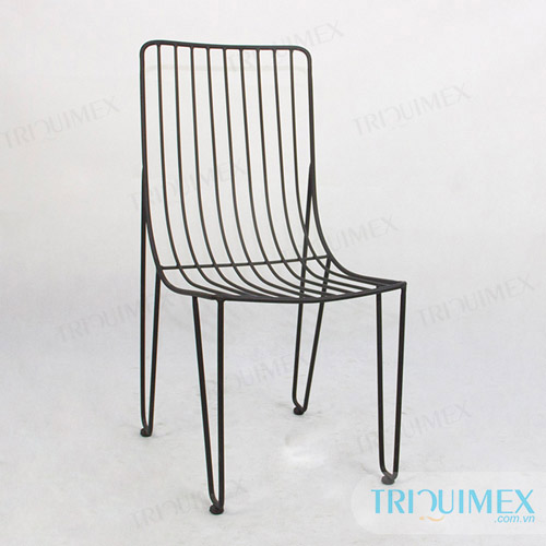 Lattice iron frame chair GH-121