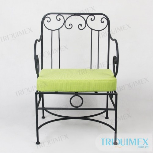 GH-142 Wrought iron individual sofa