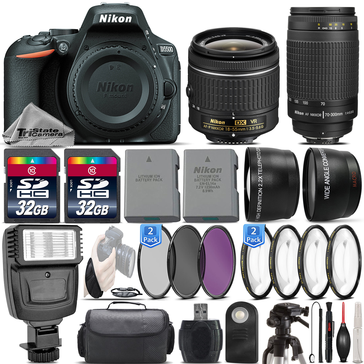 Fullsize Of Nikon D5500 Bundle