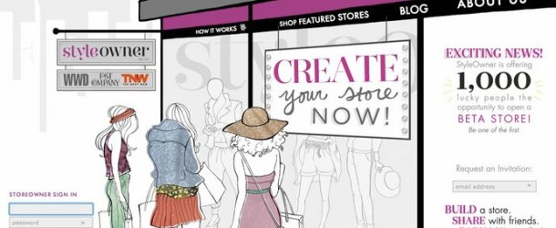 A Platform for Stylepreneurs: Pinterest Meets Online Department Store