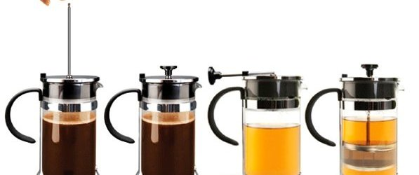 The Duet: French Press Meets Tea Infuser