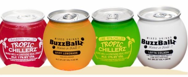 Packaging Spotlight: Ready to Drink Buzz Balls