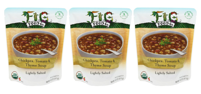 Food Spotlight: Fig Food Chickpea, Tomato & Thyme Soup